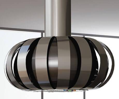 Вытяжки на кухню из металла