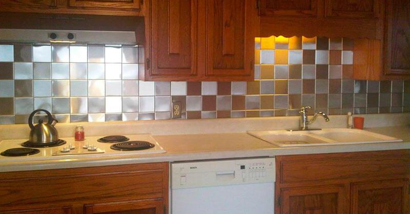 Фартук – красивый и полезный элемент для оформления кухни